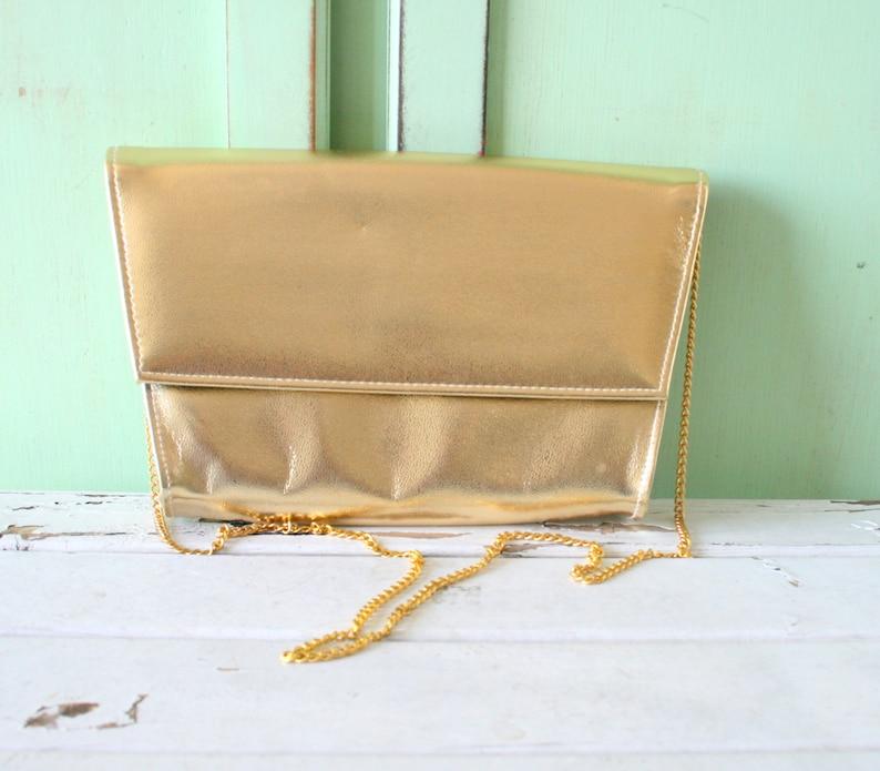 e2b923f9303 Vintage GOLDEN CINDERELLA Fancy Clutch Purse.....glam. gogo. | Etsy