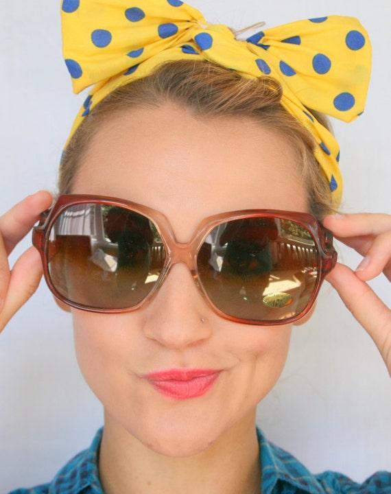 1970s TWIGGY Deadstock Sunglasses..twiggy. womens… - image 1