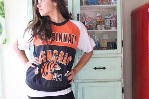 1970s Vintage Football BENGALS College Sweatshirt.