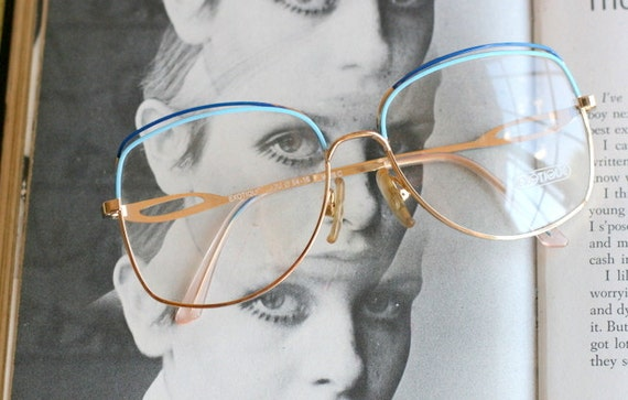 647a48c86f Vintage JACKIE O Glasses..new old stock. classic. groovy.