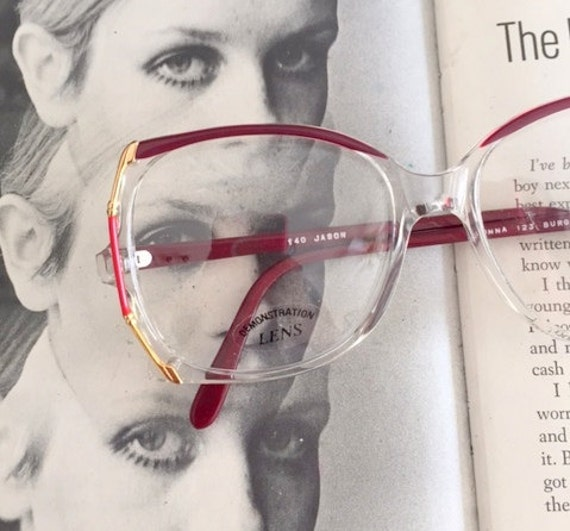 c3a6a2d182c Vintage JACKIE O Adonna Glasses..new old stock. classic.