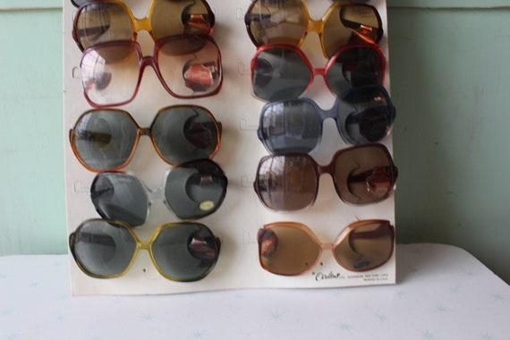 1970s MOD GIRL Sunglasses..twiggy. womens eyewear… - image 6
