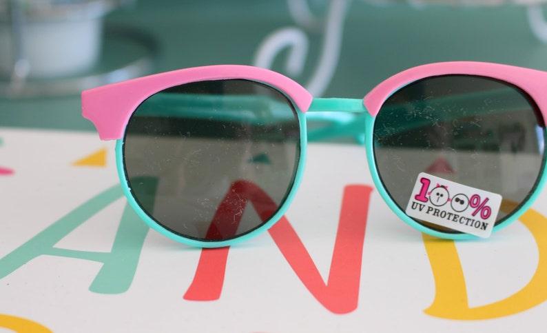 Vintage RETRO CLUBMASTER Sunglasses.retro. colorful shade. image 0