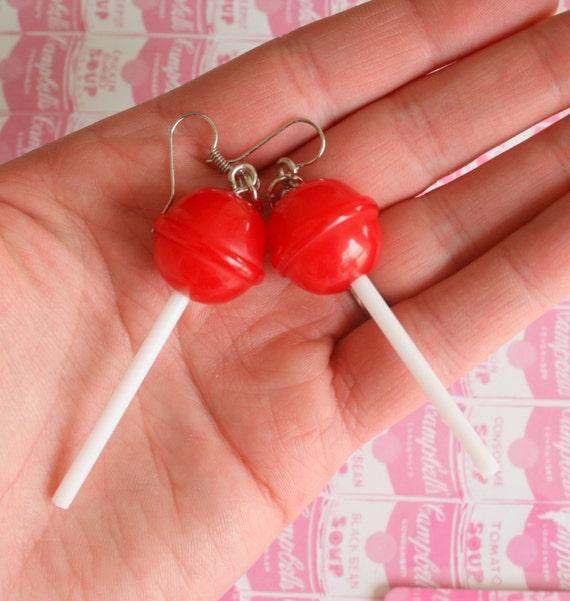 Lollipop earings