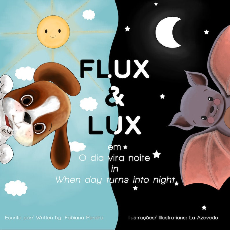 E-BOOK and Paper Dolls Flux&Lux  When day turns into night  image 0