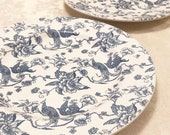 Staffordshire Old Engraving Bird Of Paradise Featuring Peacocks Stoneware China A Genuine Hand Engraving Dishwasher And Microwave Safe