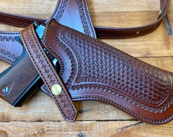 1911 Government Auto Shoulder Holster. Made to order.