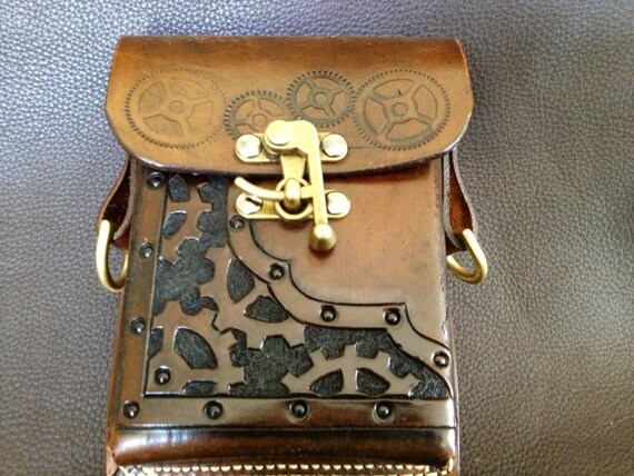 Items Similar To Steampunk Belt Pouch On Etsy