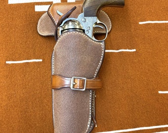 Eastwood Walk n Draw Holster, Lefthand Holster, Made to Order.