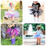 Custom baby tutu or newborn tutu - choose your own color combination