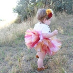 San Francisco 49ers Baby Tutu with flower headband - Minnesota Golden Gophers Baby Tutu Set - Washington Tutu - Arizona State Baby Tutu Set