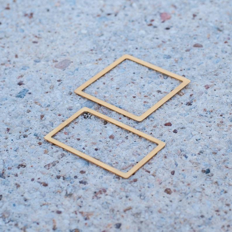Stacking Gold Bangle Geometric Bracelet Hexagon Bracelet Square bangle Rectangular Bracelet Geometric Bangle Minimalist Bangle