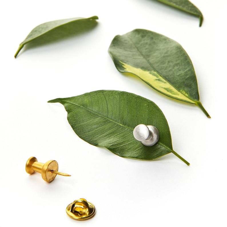 Lapel Pin for Flowers  Flower Lapel Pin for Men or Women  image 0
