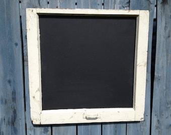 Rustic Window Frame Chalkboard, Black board, Wedding Sign