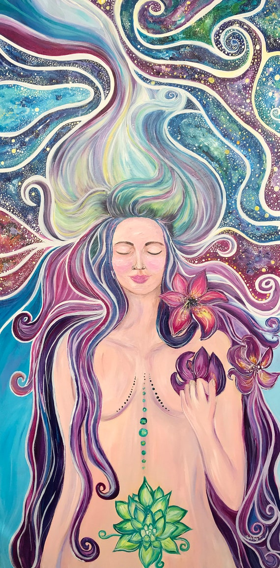 Blossom from Within, Fine Art by Sheila Faye
