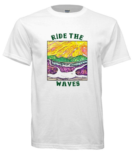 Ride the Waves,  Surfing t-shirt