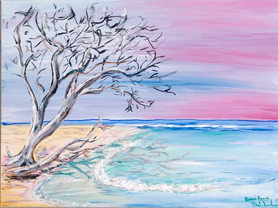 Honeymoon Harbor, Fine Surf Art by Sheila Faye