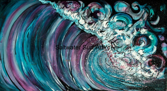 Turbulence, 24x48 Giclee Canvas Print