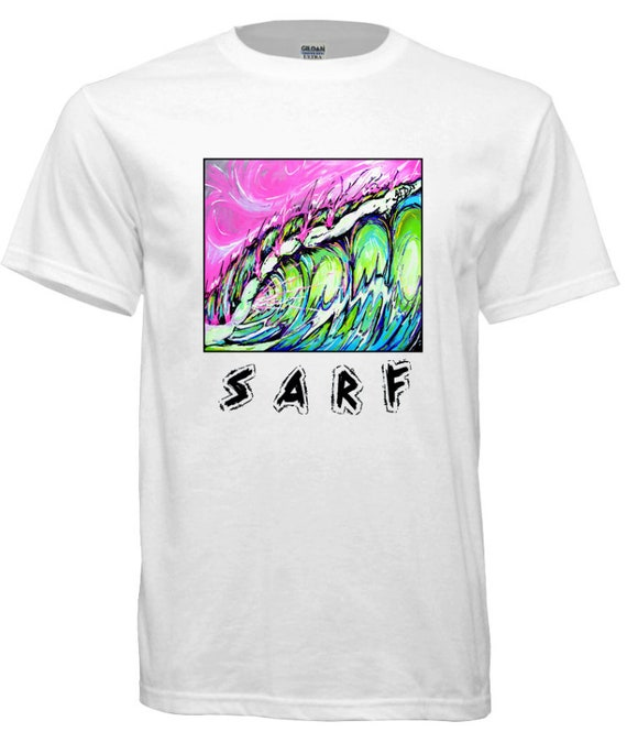 Sarf, Fierce,  Surfing t-shirt