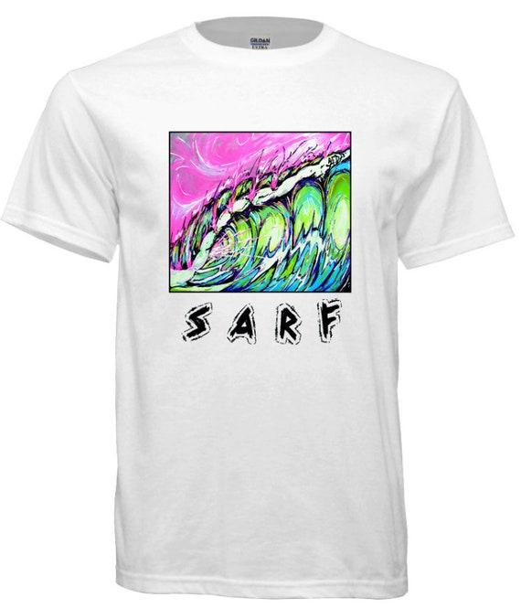 Sarf, Fierce,  Surfing t-shirt