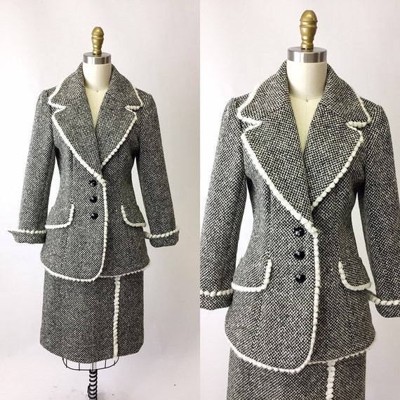 1960s Lilli Ann Tweed Suit