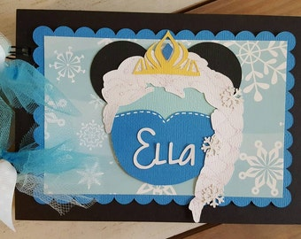 Personalized Disney Autograph Book Inspired by Elsa