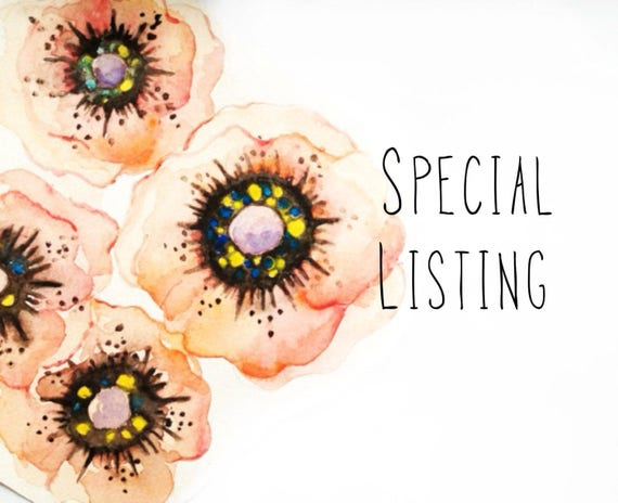 SPECIAL listing for L