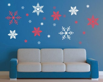 Exceptional More Colors. XXLarge Snowflake Wall Decal ...