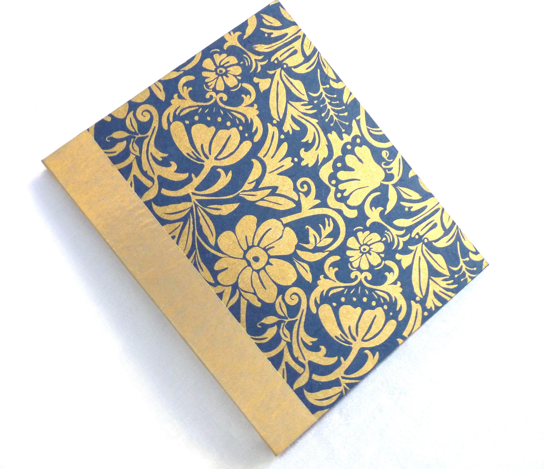 Large Art Nouveau Floral Photo Album Handbound Archival