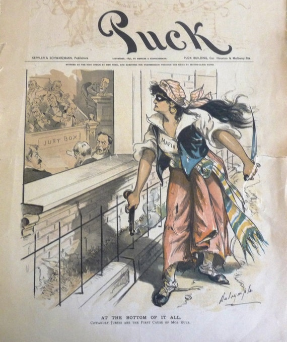 Puck Magazine Political Satire Cartoons Complete Issue Rare Etsy