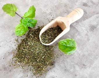 Organic Peppermint Tea Bags - Loose leaf Mint Tea in Eco Bag - FairTrade - Australia Made