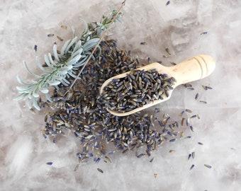 Organic Culinary Lavender - Edible Lavender buds - Eco Fair-trade pouch - Vegan