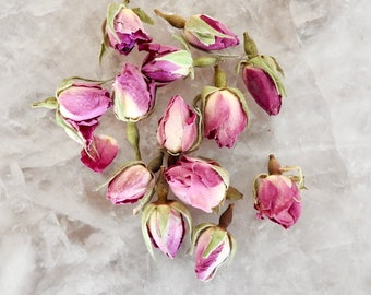 Edible Rose Petal Buds in Eco Fair Trade Pouch