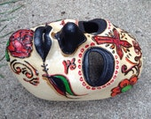 Day of the Dead full face Mexican Skull Mask for LARP, costume, cosplay, masquerade