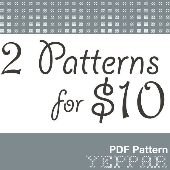 Pick 2 Sewing Patterns for 10 dollars Deal make your own   Etsy