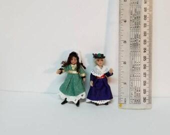 ooak miniature doll for dollhouse doll