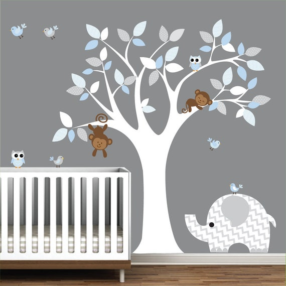 children wall decal nursery vinyl wall stickers wall decals | etsy