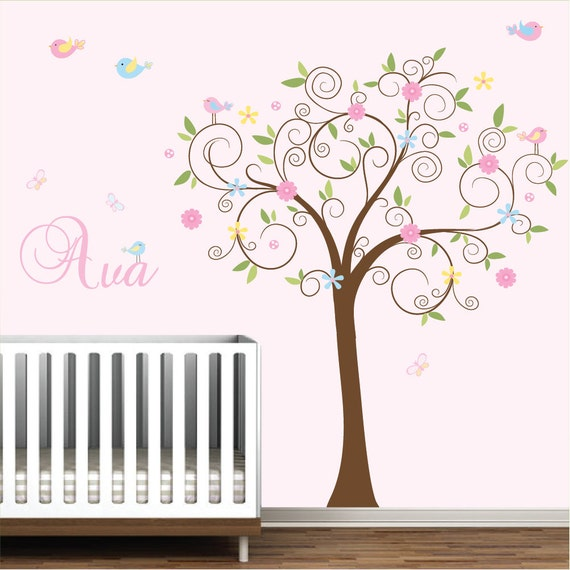 Wall Decal Stickers Vinyl Wall Art Nursery Decals-08 | Etsy