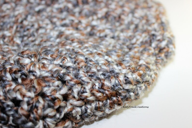 Super Soft and Slouchy in Homespun Yarn Shaker Beret
