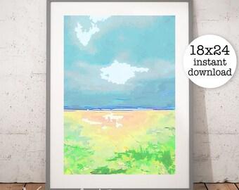 Printable BEACH CLIP ART, Digital Download, EvisionArts