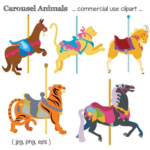 a922c7b2f0 Carousel Animal Clipart Carousel Clip Art Animal Clipart