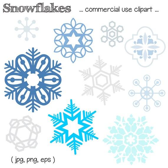 Schneeflocke Clipart Snow Flake Clipart Etsy