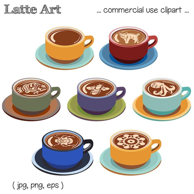 CaféClipartTasse Latte ArtClipart Numérique Cappuccino BoissonTéléchargement dhCQtrxsB