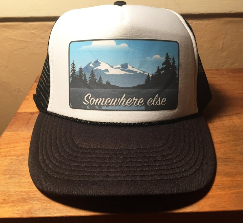 eb801a550d6 Trucker Hat Somewhere Else bad ass limited edition