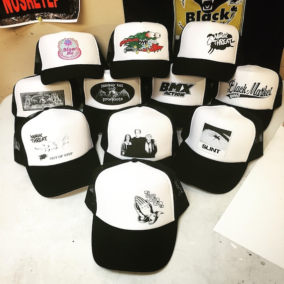 e50f2b5f58a Trucker Hats Bad ass limited edition adjustable size