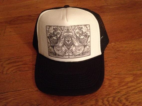 9585ec4d443 Trucker Hat OG dan infecto design bad ass limited edition