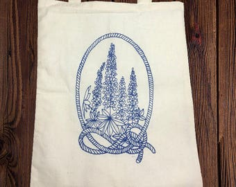 Lupine Tote