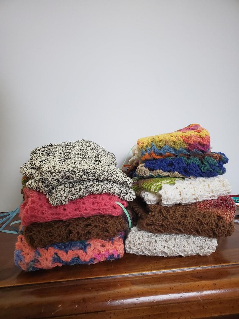 wool Prairie skirt socks handmade Mori Brwn Lacy crochet long stockings Lagenlook USA ladies size 8-9.5 violet Boho boot socks