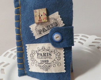 Handmade Needle Book Filled with Treasures