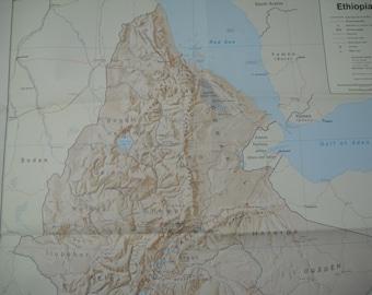 Many Sizes; Cia Map Of Guatemala 1976 Poster